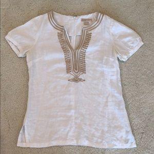 Michael Kors linen blouse